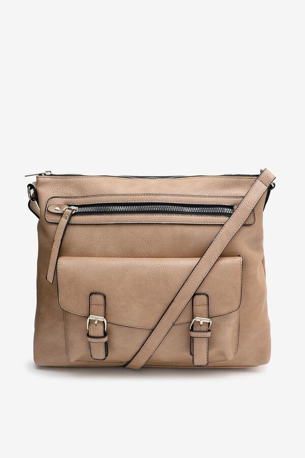 Buckle Pouch Crossbody Bag