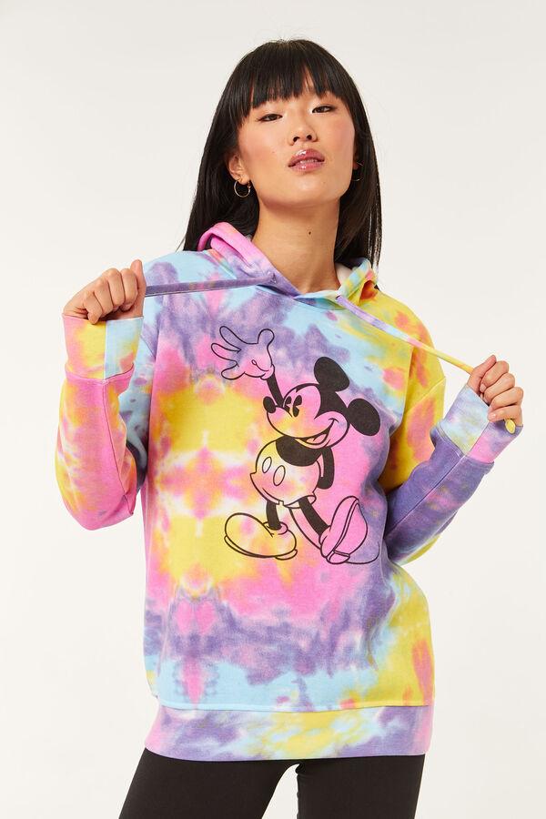 Tie-Dye Mickey Mouse Hoodie