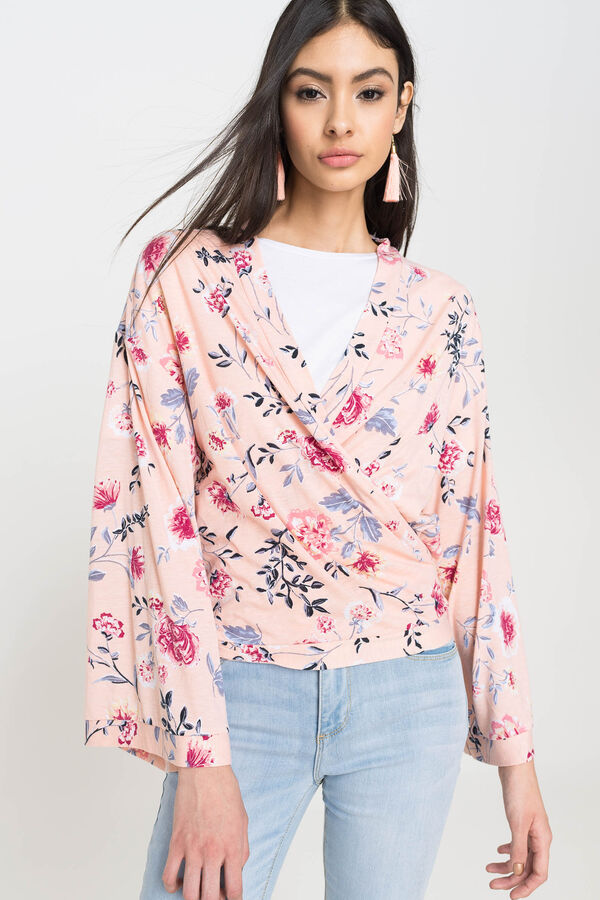 f33bce6c4 Ardene Ardene Women's Front Tie Short Kimono, pink, fall winter 2018  CLOTHING, ...