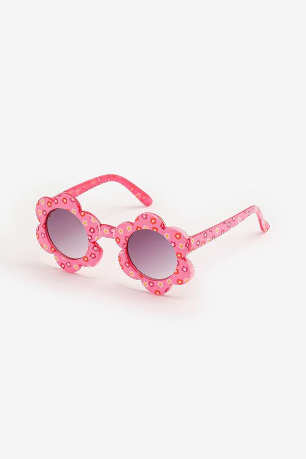 Pink Flower Sunglasses for Kids