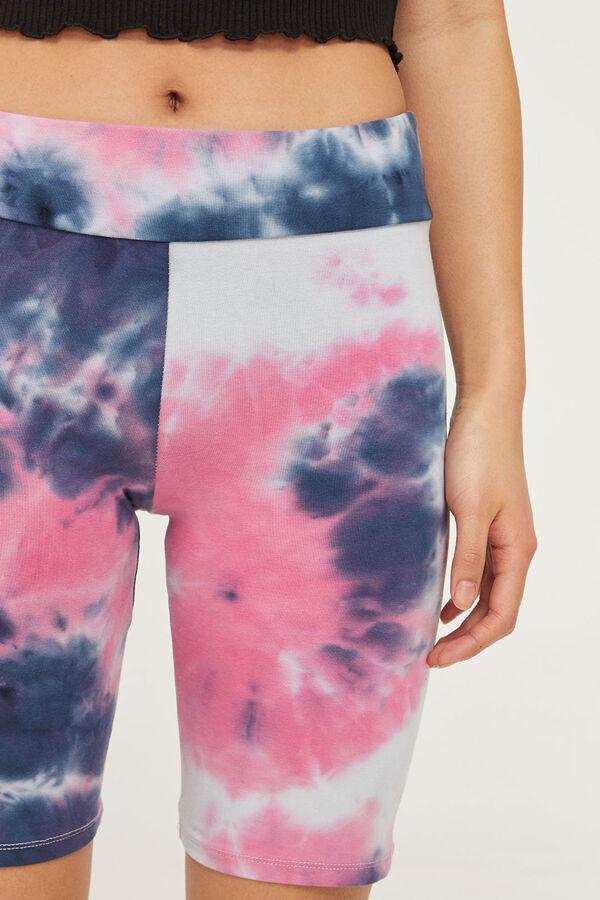 Tie-Dye Biker Shorts