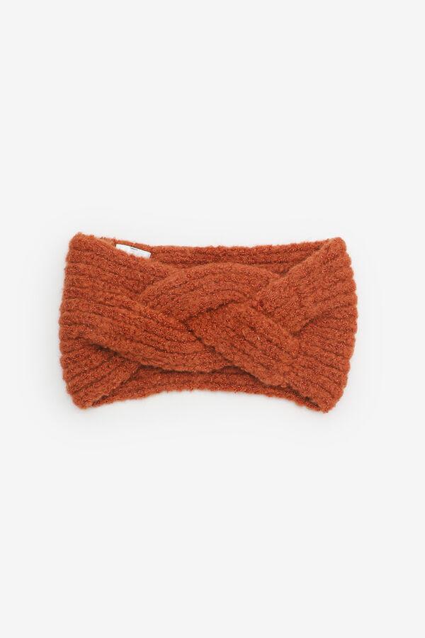 Bandeau en tricot torsadé