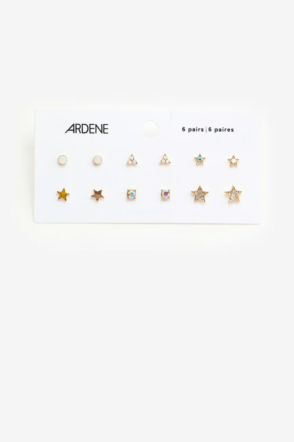 Pack of Star and Stone Earrings