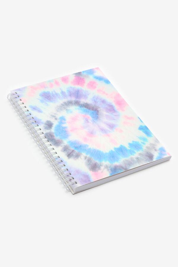 Cahier spirale tie-dye