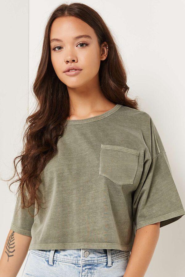 T-shirt court carré