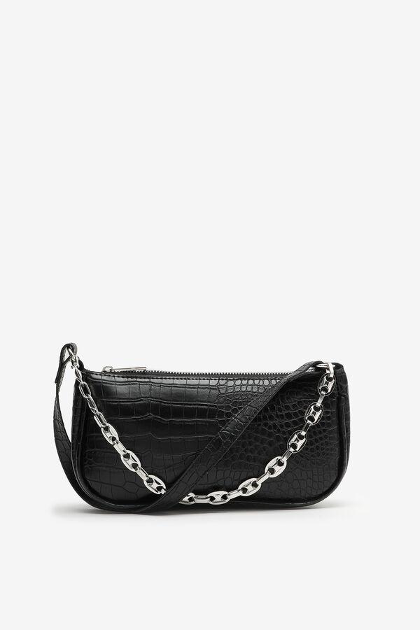 Reptile Baguette Bag