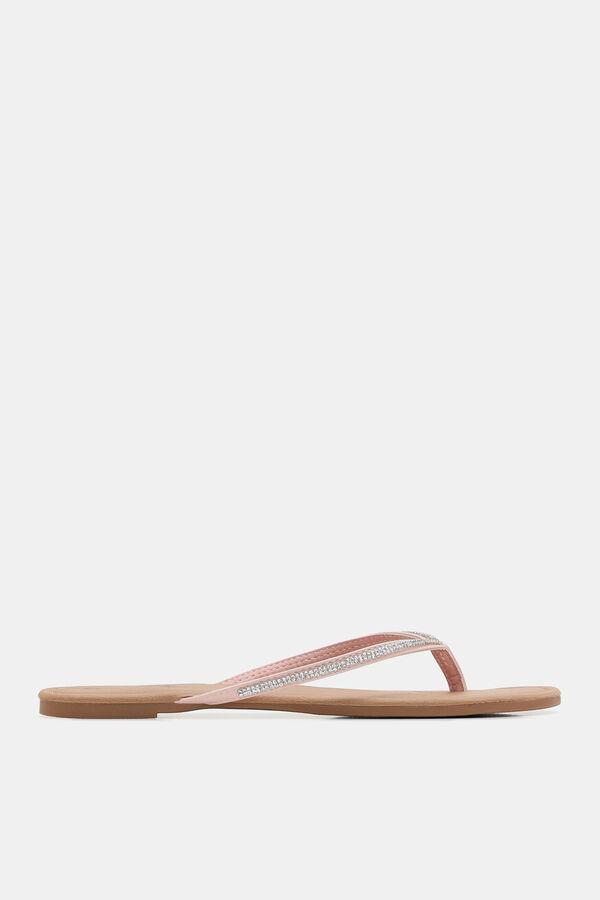 7a3030d62 Ardene Ardene Women s Faux Gem Flip-Flop Sandals