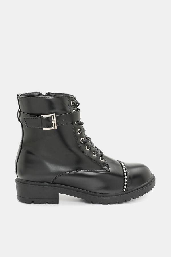 f41587bb246 Ardene Ardene Women s Studded Cap Toe Combat Boots