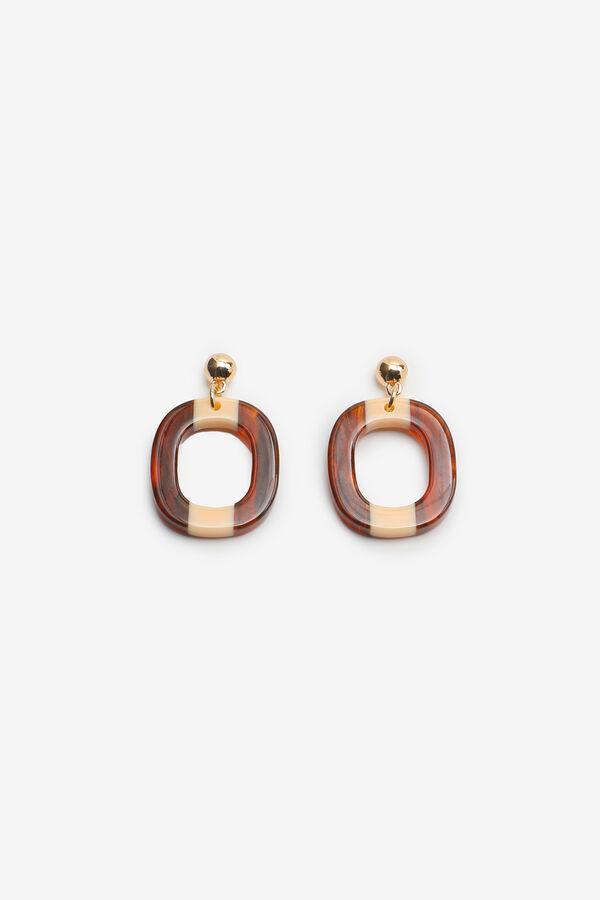 Tortoise & Gold Earrings