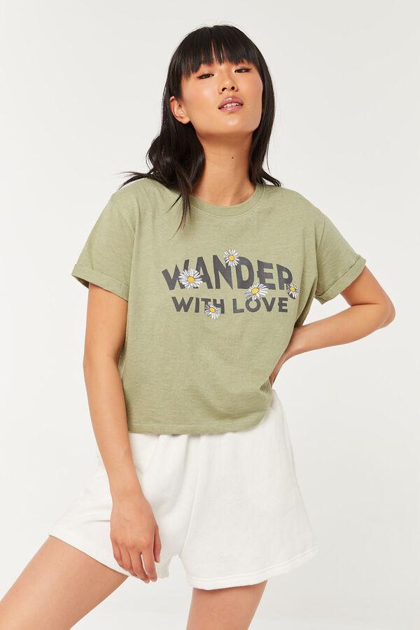 T-shirt carré court recyclé