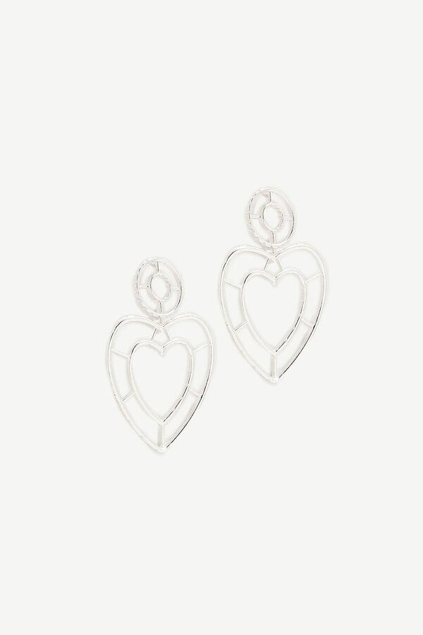 Boucles pendantes en cœur