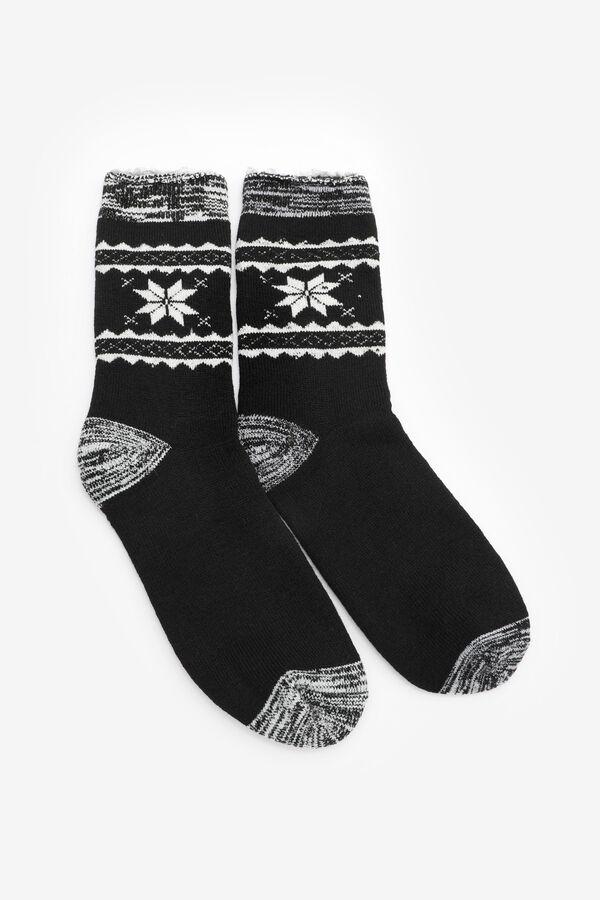 Snowflake Warm Socks