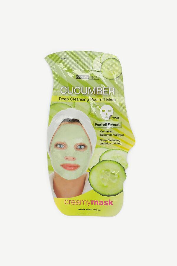 Masque pelable au concombre
