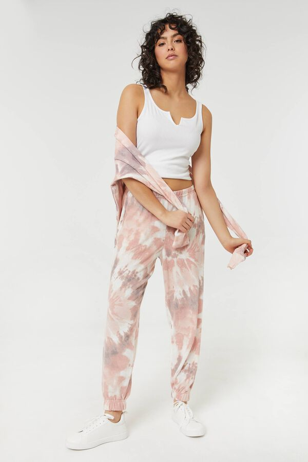 Brushed Tie-Dye Joggers