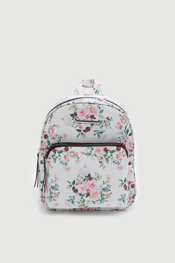 Simple Floral Backpack