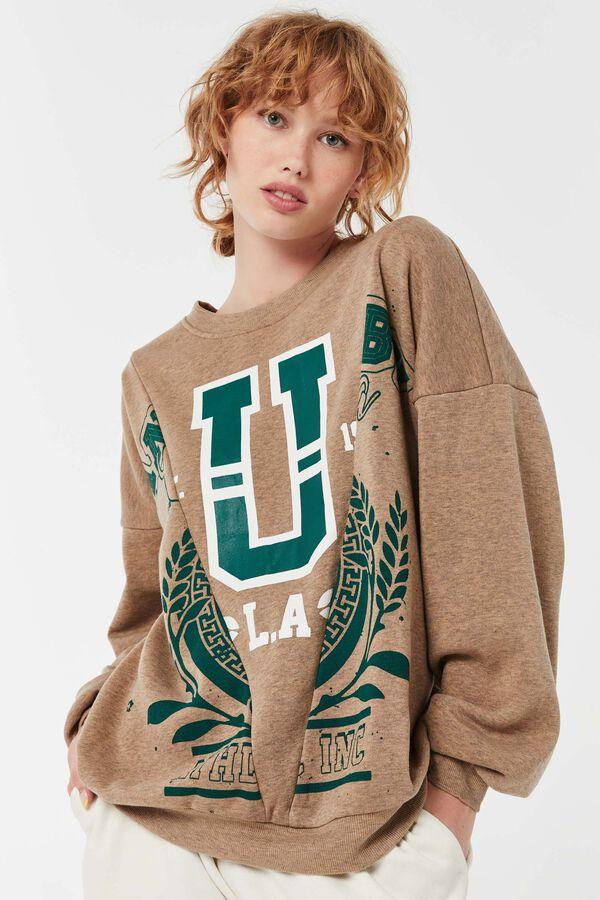 Varsity Oversized Sweatshirt