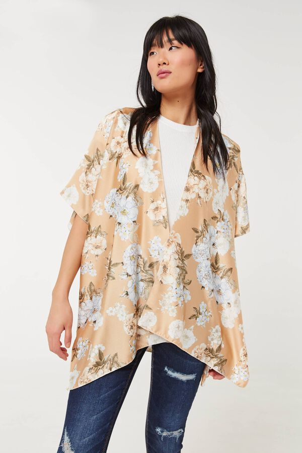Light Floral Kimono