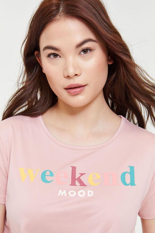 961b30b20 Super Soft Weekend Mood Tie Front Tee - Clothing | Ardene