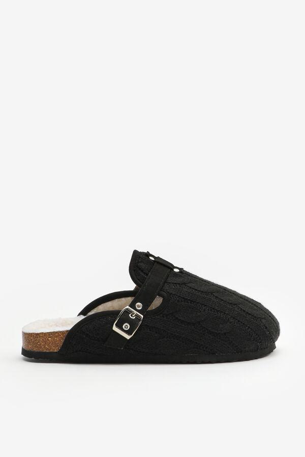 Knit Mule Slippers