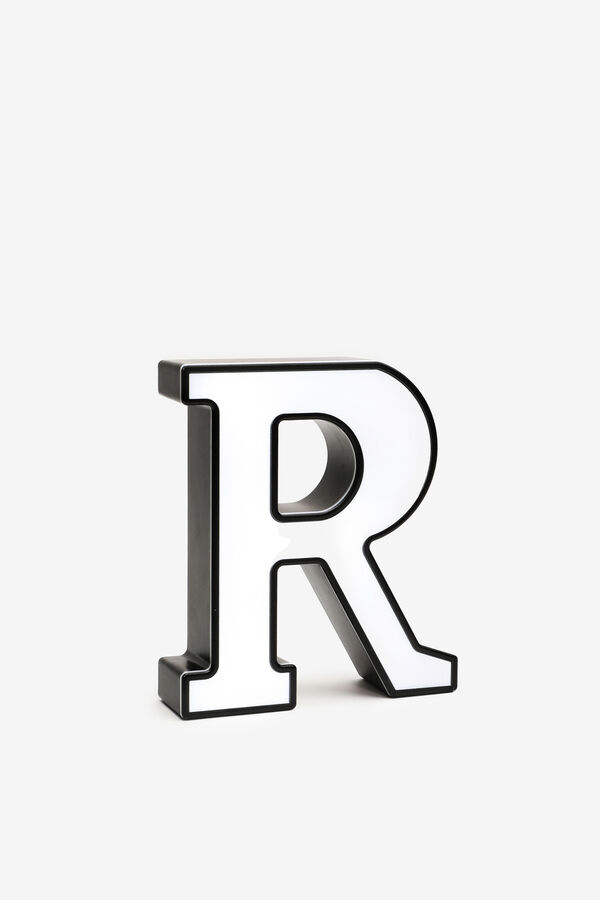 Lettre R lumineuse