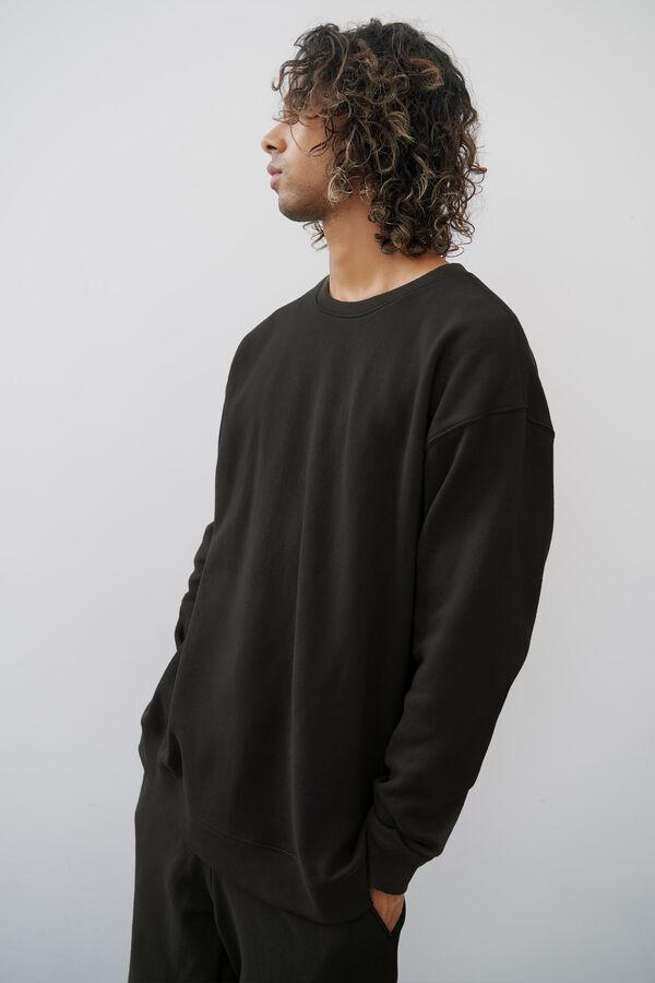 Classic Crew Neck Sweatshirt for Men