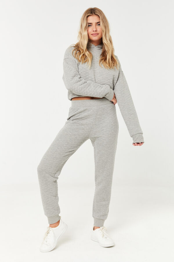 Slouchy Quilted Joggers