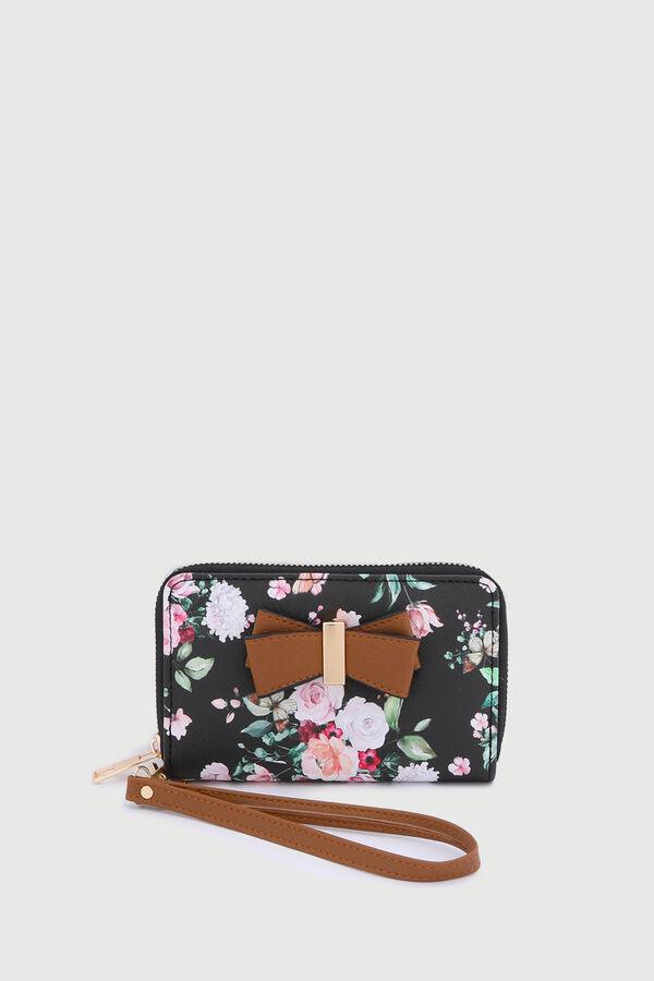 Small Floral Accordion Wallet