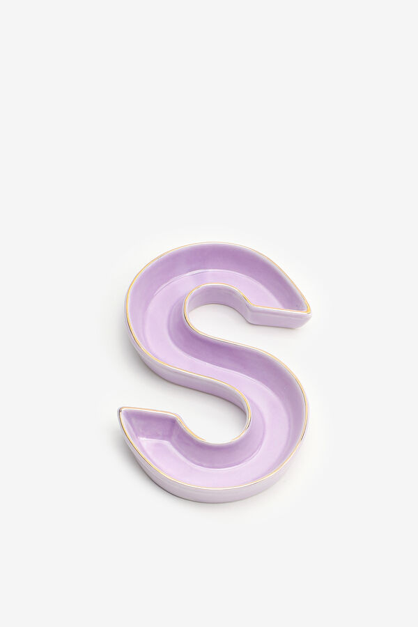 Vide-poche lettre S