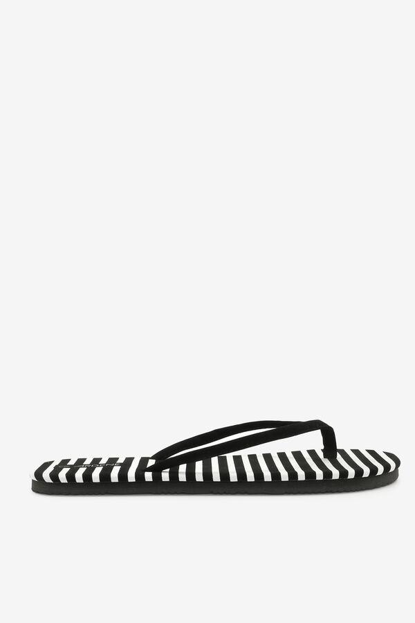 Flip-flops rayées