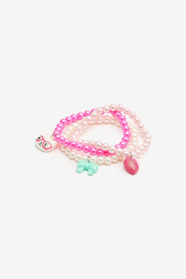 3-Pack Beaded Bracelets for Girls