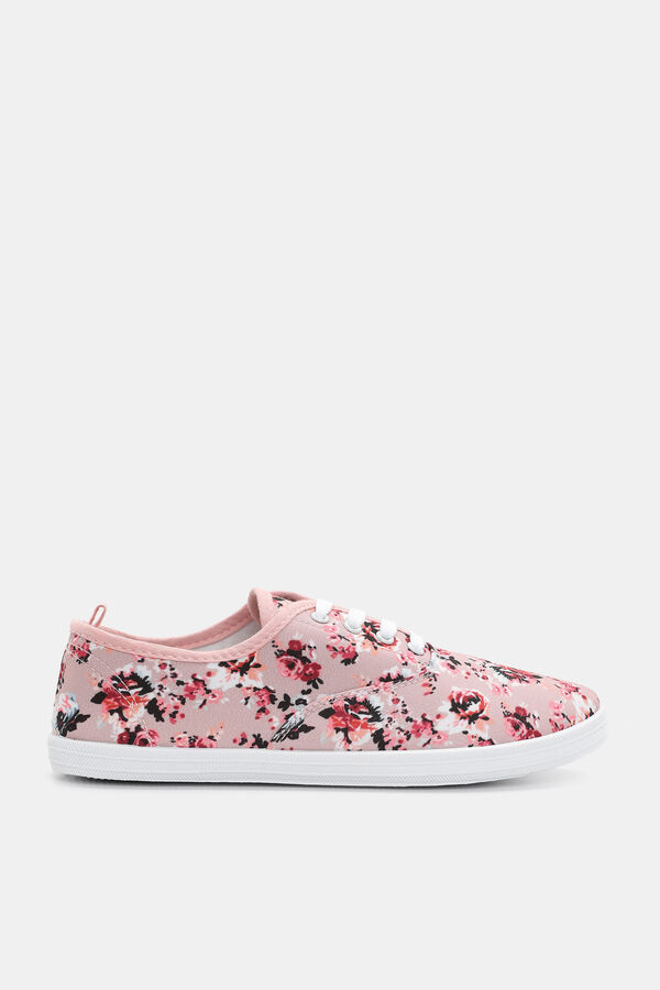 65fadfe265 Images. Floral Floral Print Sneakers ...