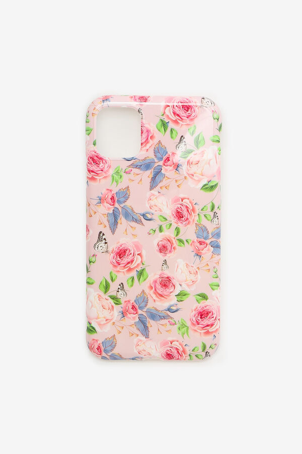 Étui d'iPhone 11 fleuri