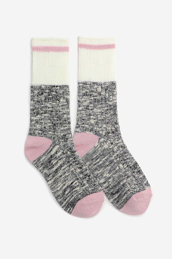 Ribbed Cabin Socks
