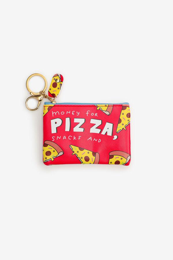 Porte-monnaie pizza pour filles