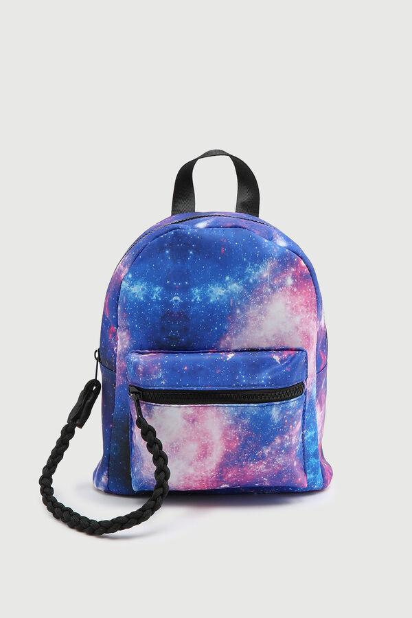 Galaxy Nylon Backpack