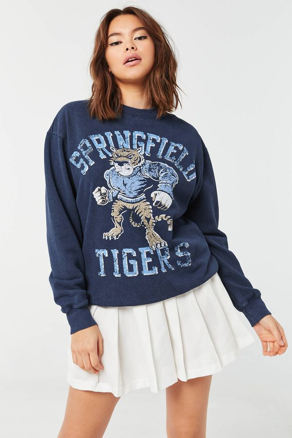 Tigers Classic Crew-Neck Sweatshirt