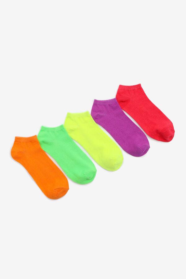 Neon Ankle Socks