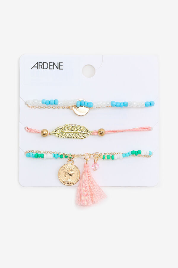 5-Pack of Bead Bracelets