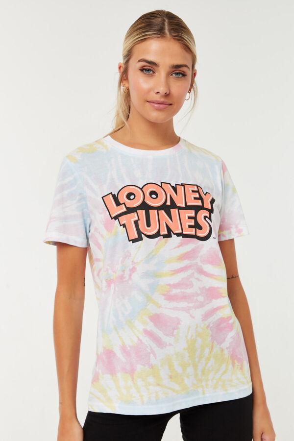 Tie-dye Looney Tunes Tee