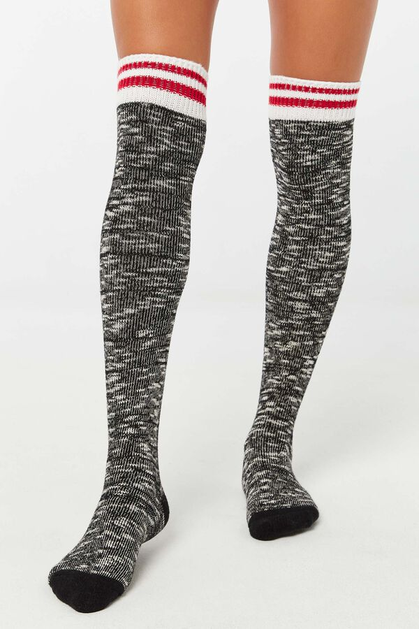 Over-The-Knee Cabin Socks