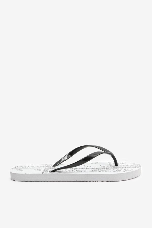 Paisley Flip-Flops