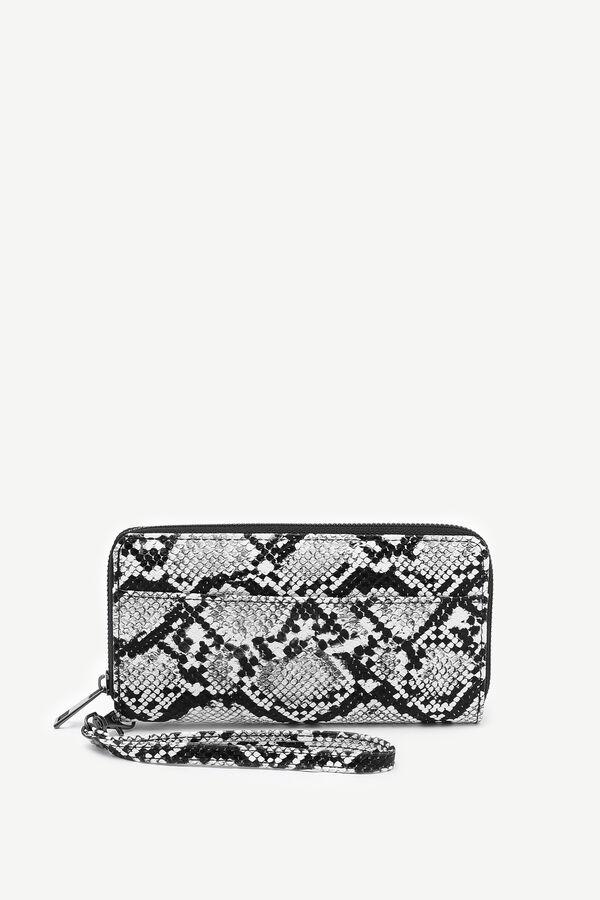 Snakeskin Print Wallet