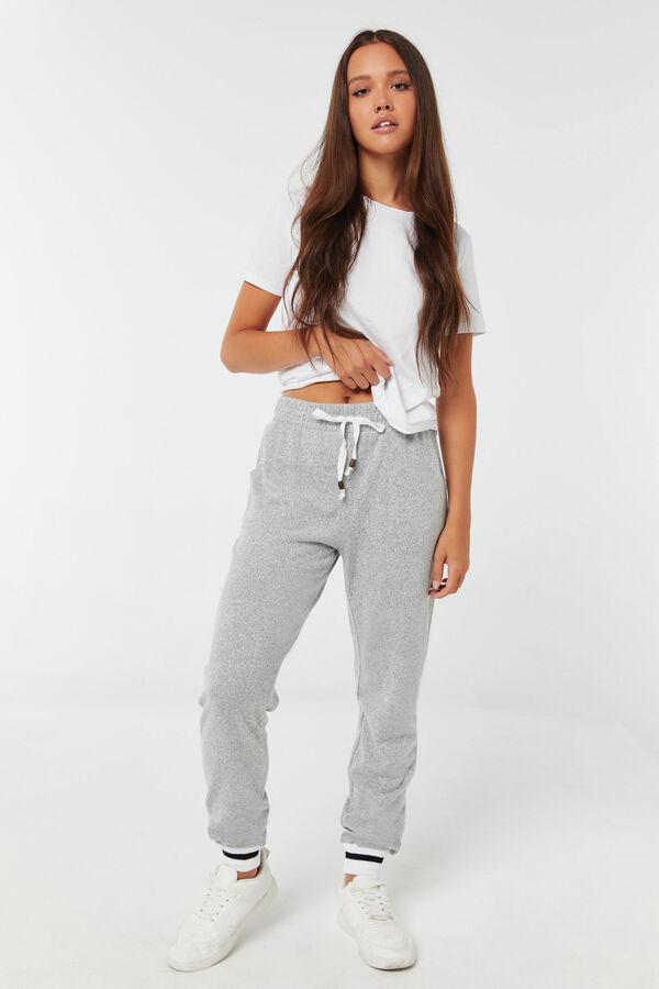 Pantalon en tricot à cordon à billes