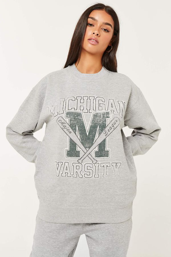 Michigan Crew-Neck Sweatshirt