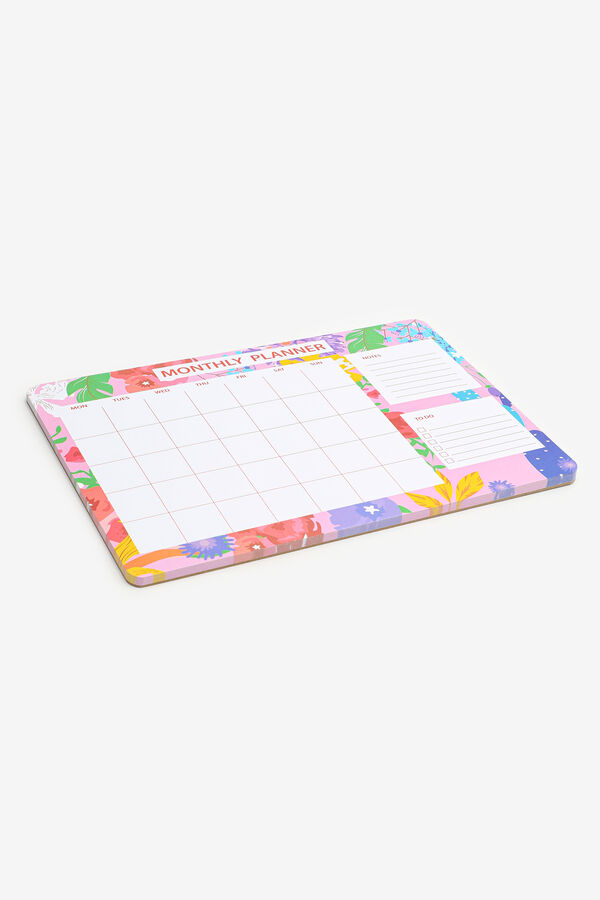 Floral Monthly Planner