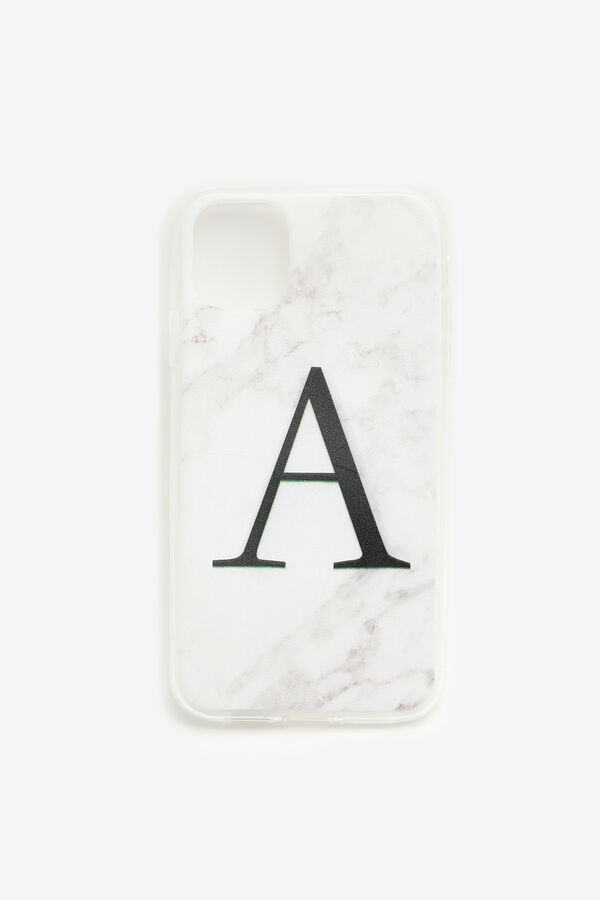 Étui d'iPhone 11 lettre A