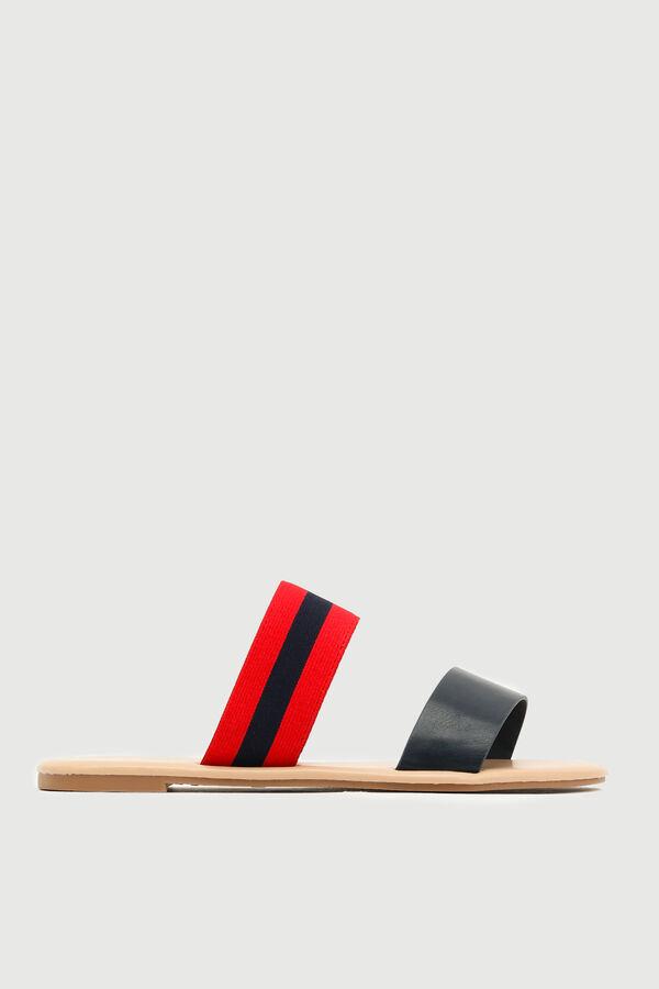 Sporty Strap Slide Sandals