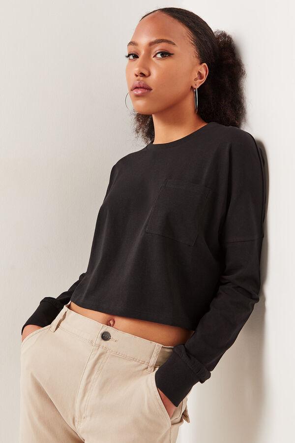 Basic Boxy Dolman Sweatshirt