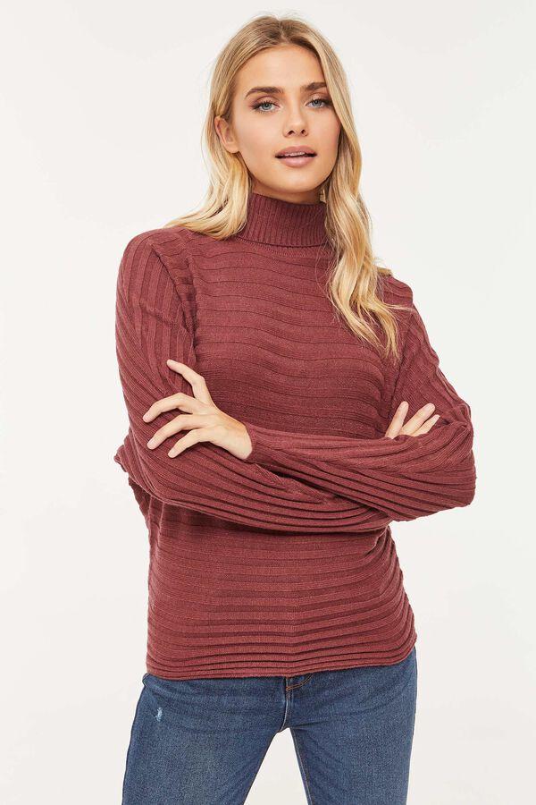 Eco-Conscious Turtleneck Sweater