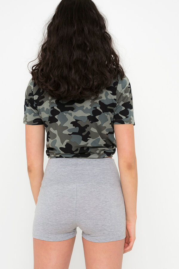 443753f538 Ardene Ardene Women's Fold Over Waist Shorts, grey, fall winter 2018  CLOTHING, Style 8A Ardene ...